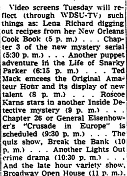 EntThe Times-Picayune August 24, 1950er a caption